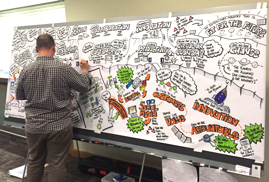 John Ashton graphic recording