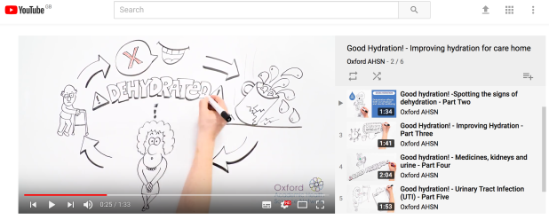 Good Hydration Animation